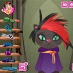 Игра Для девочек: Кошачья парикмахерская