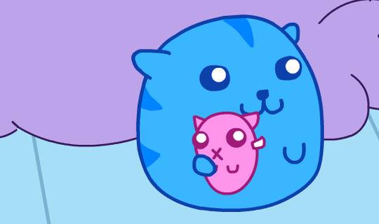 Игры Суши кот 1