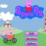 Пеппа Гонки на велосипеде