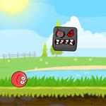 Игра Красный шар против черного квадрата