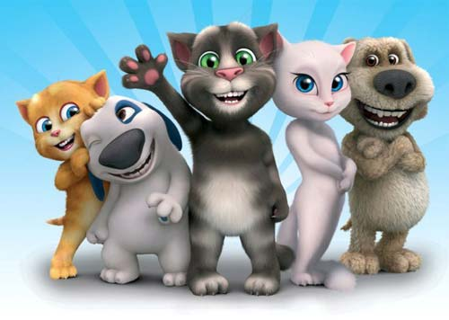 Вселенная говорящего кота Тома: Список лучших игр