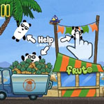 Игра 3 панды 9