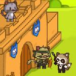 Игра Котята против лисят 3