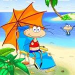 Игра Масяня на пляже