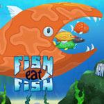 Игра Рыбка ест рыбку и растет