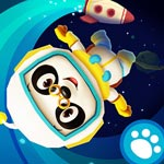 Три панды в космосе