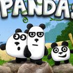 Новый раздел Игры 3 панды