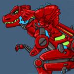 Игра Битва роботов динозавров