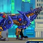 Игра Конструктор роботов динозавров