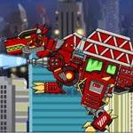 Игра Роботы динозавры для мальчиков