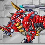 Игра Роботы динозавры: Носорог