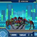 Игра Роботы динозавры: Собираем тарантула