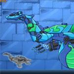 Игра Собираем динозавра: Плезиозавр