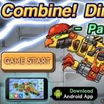 Игра Собирать робота динозавра