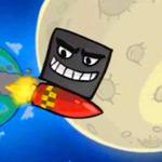 Игра Красный шар спасает Луну