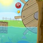 Игра Красный шарик для детей