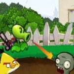 Игра Энгри бердз против зомби