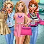 Игра Принцессы Диснея в магазине