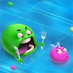 Игра Шарики едят шариков