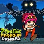 Игра Зомби паркур