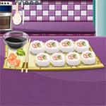 Игра Кухня Сары: Суши