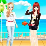 Игра Одевалка Барби и ее сестер