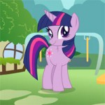 Игра Пони одевалки: Наряд для Твайлайт Спаркл