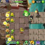 Игра Plants vs zombies 2 its about time