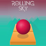 Игра Rolling sky