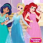 Игра Переодевалки принцесс Диснея