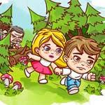 Игра Джим и Мэри в лесу