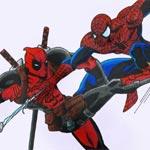Игра Дэдпул против Человека паука