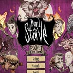 Игра Don't starve pocket edition
