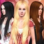 Игра Sims 4 прически