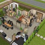 Игра Симс: Дизайн дома
