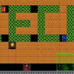 Игра Танки в лабиринте на весь экран