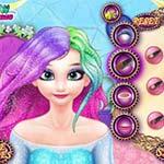 Игра Красим волосы