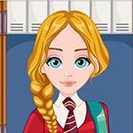 Игра Парикмахерская: Прическа в школу