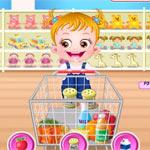 Игра Малышка Хейзел в супермаркете