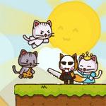 Игра Ударный отряд котов: Спаси принцессу