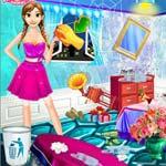 Игра Уборка в комнате Анны