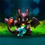 Игра Беззубик и драконы: Раскраска