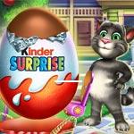 Игра Киндер сюрприз открывать яйца
