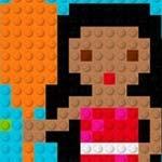 Игра Лего для девочек: Мозаика