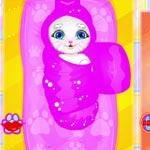 Игры Малыш говорящей Анжелы