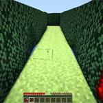 Игра Майнкрафт: Лабиринт с криперами
