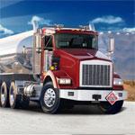 Игра Паркур среди грузовиков