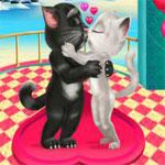 Игра Том целуется с Анжелой