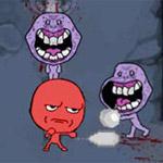 Игра Троллфейс борются с зомби