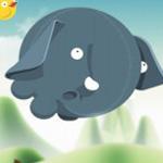 Игра Для одной девочки: Круглый слоник